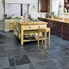 kitchen tiles floor design ideas. Cool Black Slate Kitchen Floor Tiles Ideas Tile Flooring Design O