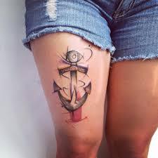 Tetování Kotva Trochu Jinak Tetování Tattoo