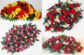 Solar Grave Decorations Graveside Flowers Artificial Flower Arrangements For Cemeteries