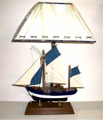 Robin's Dockside Shop Fishing Boat Table Lamp Inside Sailboat Table Lamps