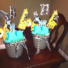 Pin by Twila Stanley on DIY and crafts   Jungle baby shower theme, Baby  shower centerpieces, Baby shower safari theme