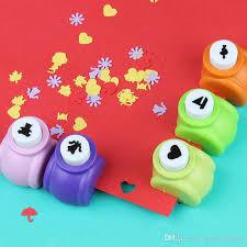 Paper Flower Cutter Circle Flower Punch Diy Craft Hole Puncher Kids Handmade Craft Gift