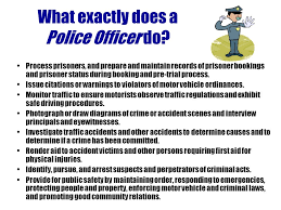 Why To Become A Police Officer Why I Want To Be A Police Officer Under Fontanacountryinn Com
