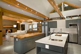 lighting for beams. Beam Lighting Ideas Kitchen Contemporary With Stainless Steel Appliances Island For Beams