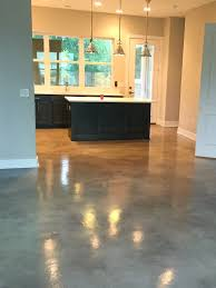 stained cement floors. Stained Concrete Kitchen - And Epoxy Floors In Austin TX Cement O