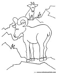Small Picture Goat 63 Animals Printable coloring pages