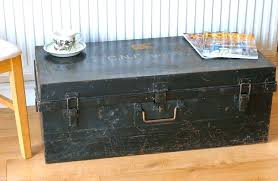 coffee table chest storage black storage chest vintage large black metal travelling trunk chest storage rustic