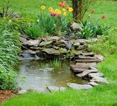 Small Picture Small Pond Waterfall Ideas edition Ideas For The Smaller