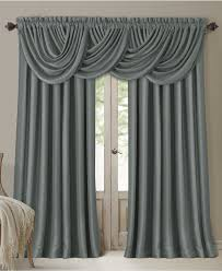 Macys Curtains For Living Room Elrene All Seasons Faux Silk Blackout Window Panel Collection