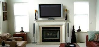 flat screen installation over fireplace flat screen installation ideas tv installation fireplace