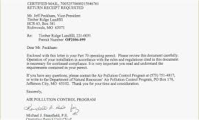 Certified Mail Return Receipt Requested Examples Certified Letter