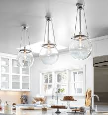 image of large glass pendant lights