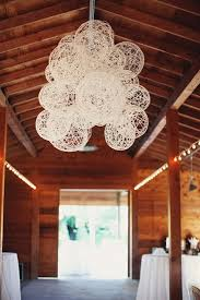 diy rustic wedding lighting. diy idea - string laterns for rustic wedding decor. wrap pva-dipped around diy lighting l