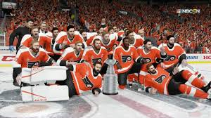 flyers stanely cup nhl 18 philadelphia flyers stanley cup celebration youtube