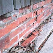 freezing and thawing water in brick can cause flaking and spalling which ruins the brick