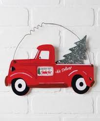 red advertising tree truck sign zulilyfinds red