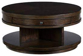 augustine round cocktail table