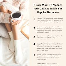 Can decaf coffee be processed organically? Coffee And Pcos The Truth About How Caffeine Affects Your Hormones The Pcos Bible