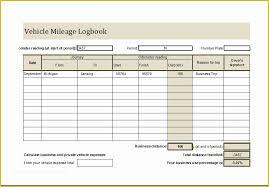 Free Excel Mileage Log Vehicle Mileage Log Template Free Of Vehicle Mileage Log