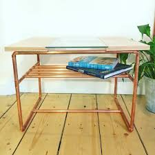 Pipe Furniture Wwwcopperandwoodcouk Classic Coffee Table In Plywood Copper