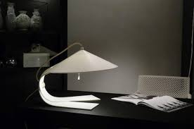 futuristic lighting. Futuristic Lamp Design Innovation With Soft Lighting For Ofice Table Or Reading Some Magazine