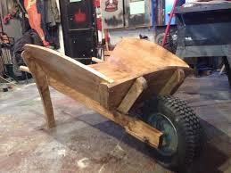 building the classic wooden wheelbarrow