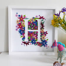how to make a quilled fl box frame on the hobbycraft blog