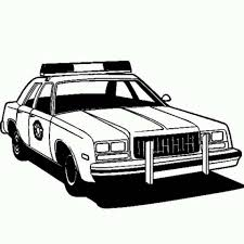 Police Car Images For Coloring Pictures Free Printable Cars Pages