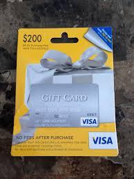 visa gift card fee photo 1