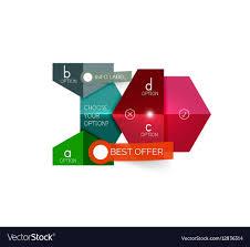Geometric Business Infographics Templates