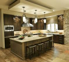 Painted Black Kitchen Cabinets Kitchen Room Simple Two Light Kitchen Island Lighting