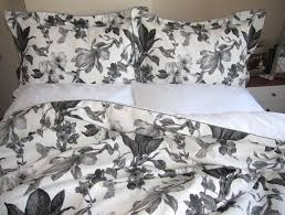 grey and white duvet covers uk