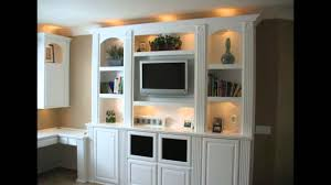 In Wall Entertainment Cabinet Built In White Entertainment Center Cabinets And Wall Units Youtube