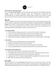 Resume Data Analyst Job Description - http://exampleresumecv.org/resume-
