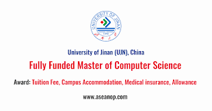 Fully Funded Master Of Computer Science At Jinan University