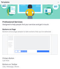 find out which ons and calls to action e with your facebook page s template