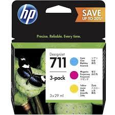 Комплект <b>цветных картриджей HP</b> P2V32A № 711 (CZ130A ...