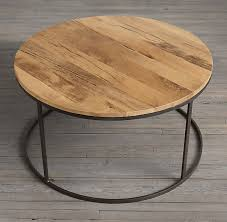 dining room amazing top round wood and metal coffee table popular rustic on concerning throughout white