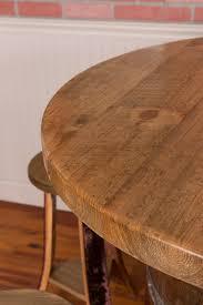 wine barrel table set rack base