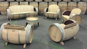 wine barrel furniture plans. Wine Barrel Furniture By Balk En Plank Barrels Plans