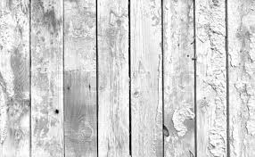 A black and white background of weathered white painted wood Stock