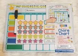 My Magnetic Responsibility Chart 38 Pc My Magnetic Chore Chart Rewards Pre K Up