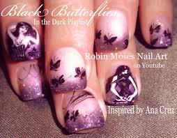 Robin Moses Nail Art: Butterfly Nails!
