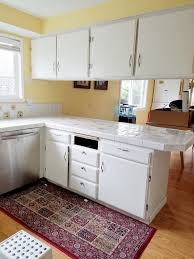 cabinet refacing white. Before Cabinet Refacing White
