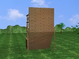 how to build an outdoor rock climbing wall designs