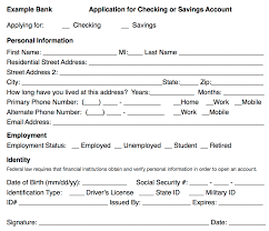 filling out applications checking savings and credit card applications esl voices