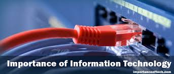 importance of information technology it my essay point importance of information technology it