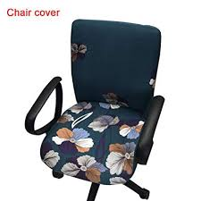 office armchair covers. Office Computer Chair Covers Printed Stretch Task Cover Slipcover For  Rotating Armchair Office Armchair Covers E