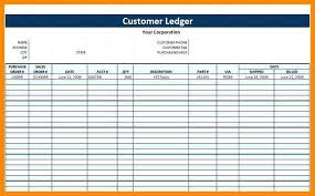Rental Ledger Template Cool Accounting Ledgers Templates Free Printable General Ledger Ledger