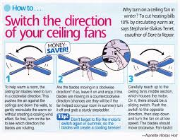 should you run your ceiling fan in the winter ideas